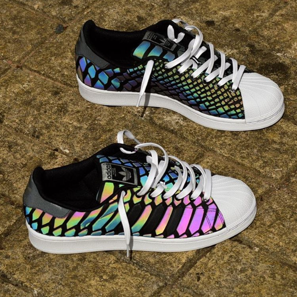 black adidas superstars with holographic stripes adidas shoes 2017 sport running