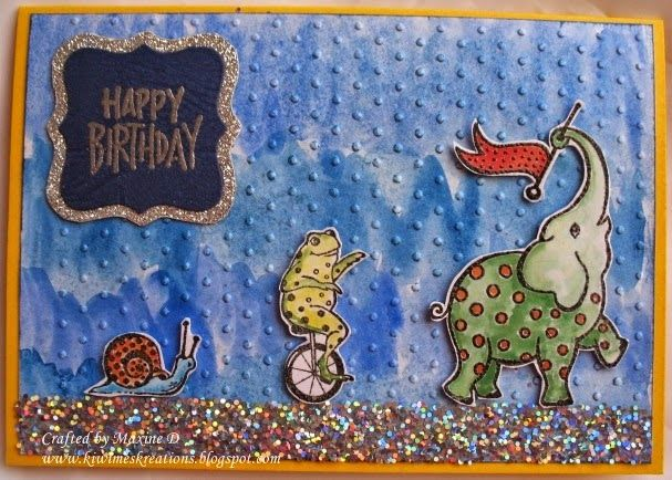 A child's card. Details are on my blog