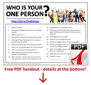 Customer Profiles  Finding Your One Person  One Of The Most