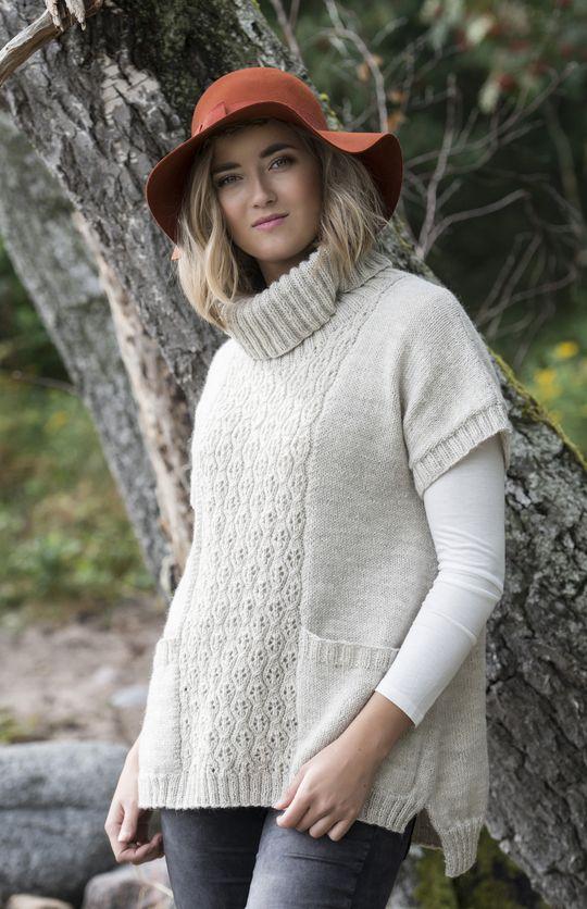 Naisen pitsitunika Novita Nalle   Novita knits