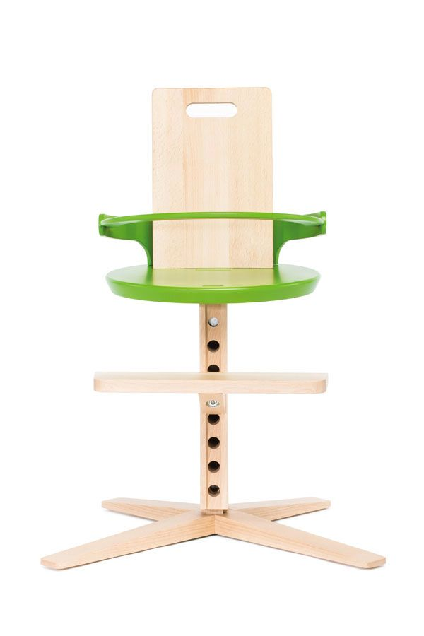 Baby Chairs For Toddlers High Chair Seat The Froc In Sugar Snap Green Modern Kids Simple Clean Design