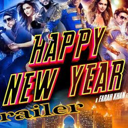 Happy New Year Hindi Movie Trailer Your Blog Description Happy New Year Movie New Year Movie Happy New Year 2014