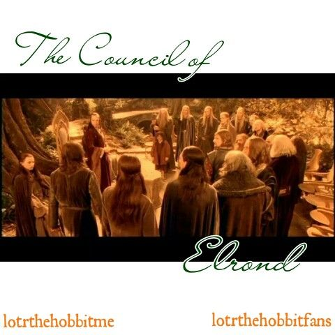The Council of Elrond #LOTR #FOTR #Rivendell