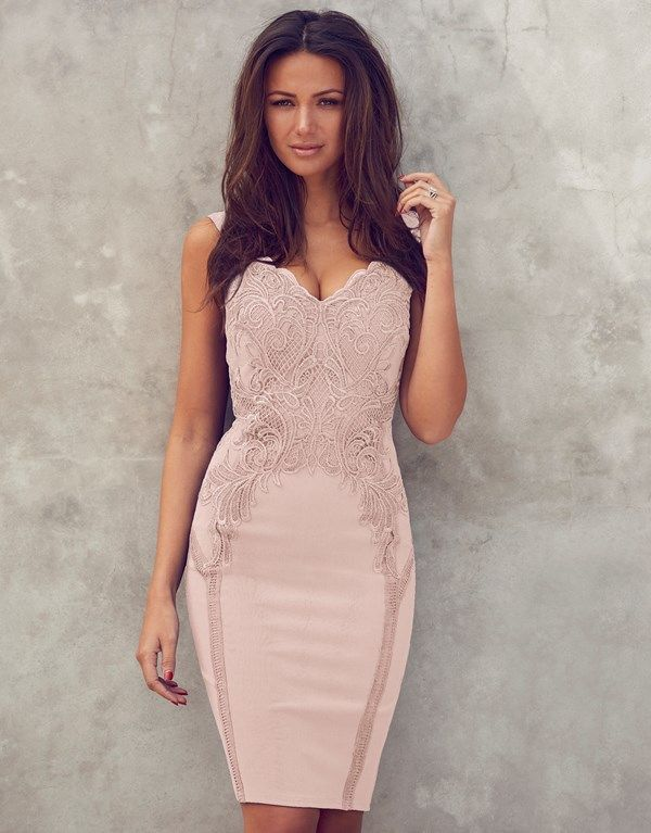 Lipsy Love Michelle Keegan Applique Detail Bodycon Dress | ropa ...