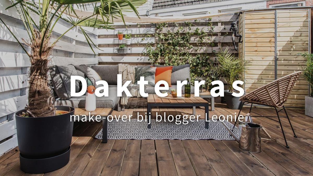 Make-over: het stadse dakterras van influencer Leonie ter Veld