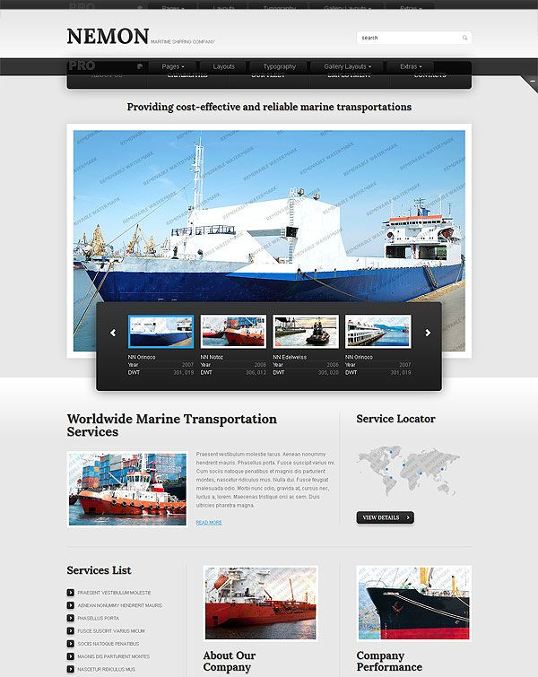 shipping company website template look at them and you. Black Bedroom Furniture Sets. Home Design Ideas