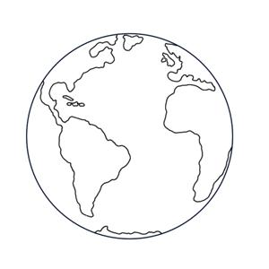 Dessiner-la-Terre.png (300×300) | Dessin planète, Dessin ...