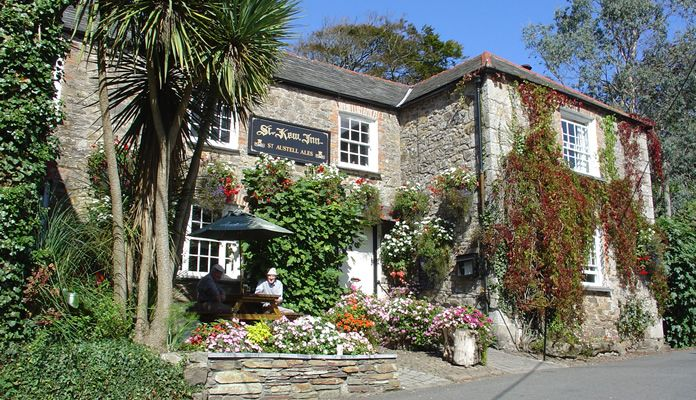 Loved it here St. Kew Inn, Cornwall, England Lets you
