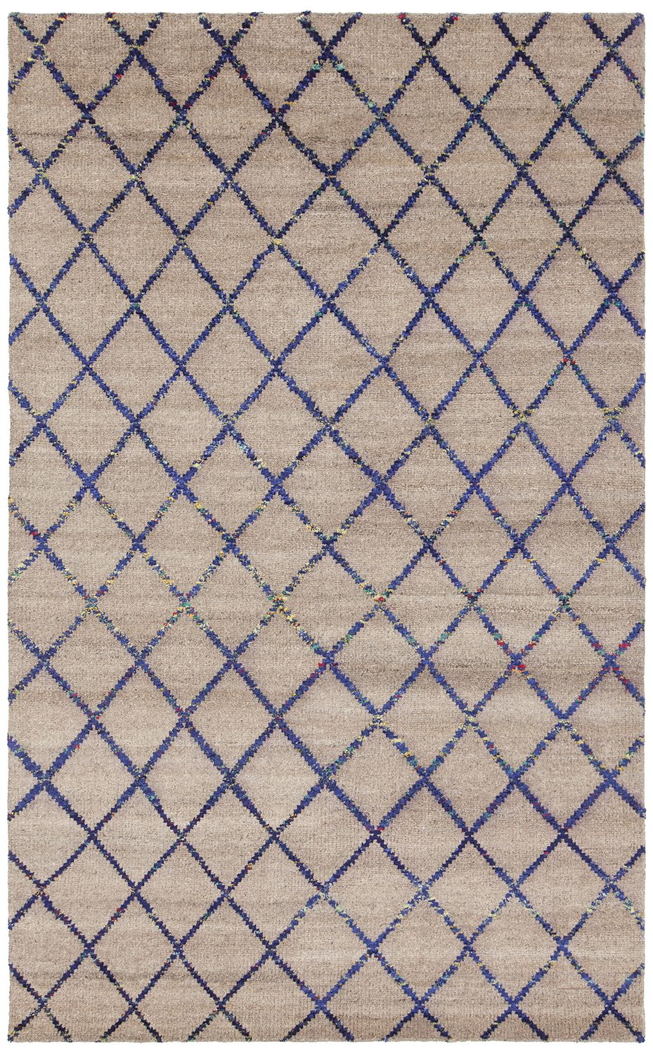 Aar 44000 Color Brown Blue Size 7 9 X 10 6 Area Rugs