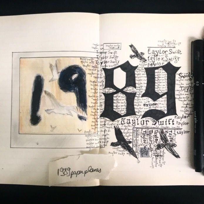 Taylor Swift Art  uploaded by Ann-Sophie ☁️🥀 on We Heart It
