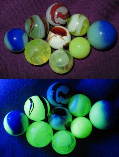 Vaseline Glass Marbles Glass Marbles Vaseline Glass Marble