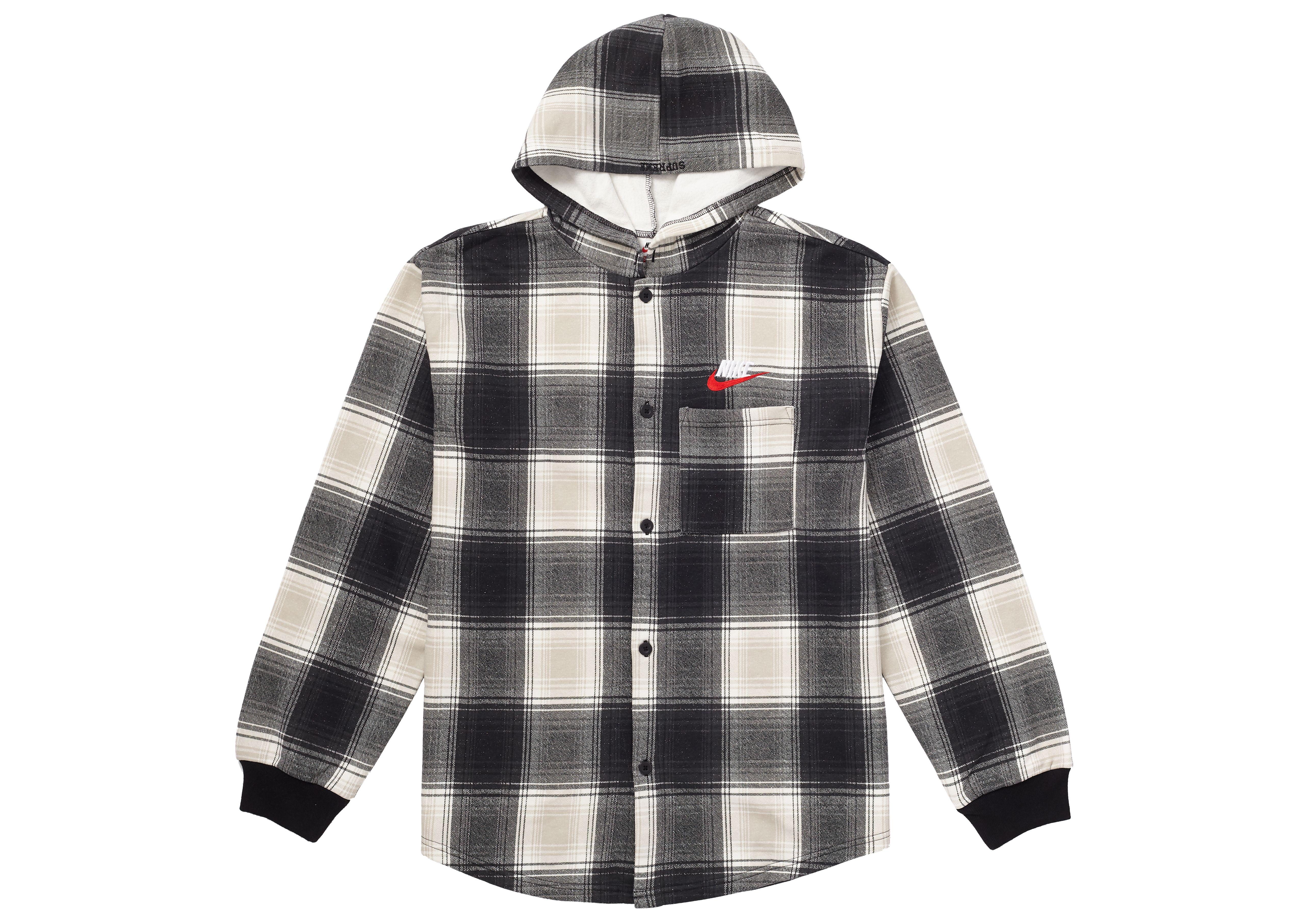 Supreme Nike Plaid Hooded Sweatshirt Black Supreme Cloth Black Sweatshirts Hooded Sweatshirts Sweatshirts [ 3627 x 5077 Pixel ]