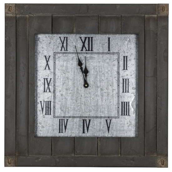 Cooper Classics Oversized 24 Fraser Wall Clock Wayfair Wall Clock Clock Wall Clock Modern