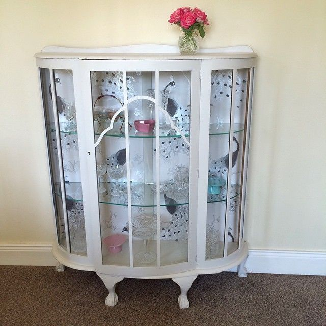 Love My Vintage China Cabinet