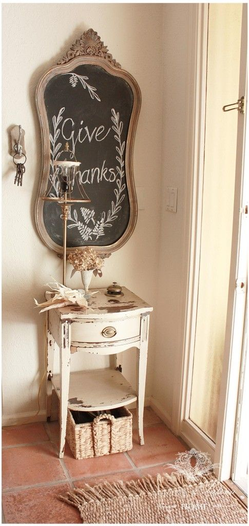 The Softer Side of Autumn Decorating