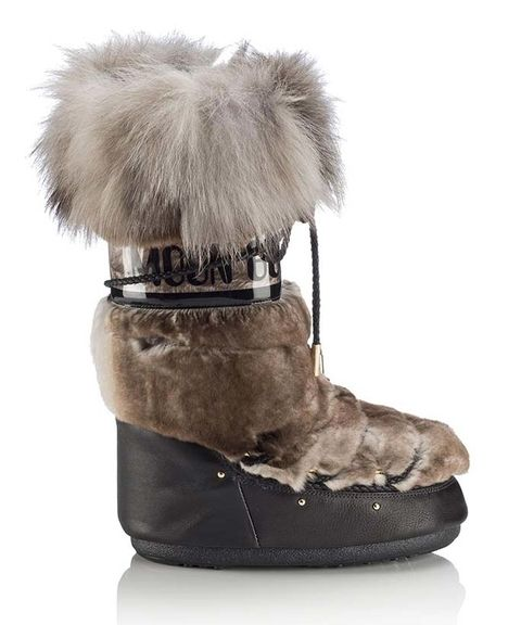 6292563702b0 See How Jimmy Choo is Giving Moon Boots a High-Fashion Upgrade from  InStyle.com