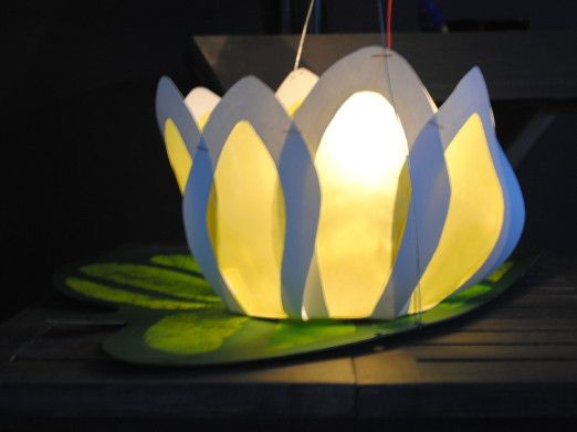Lilipad Lampion