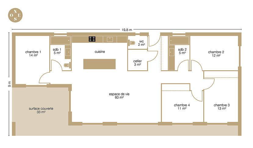 maison bois tarif m2 fabulous prix fondation maison m prix maison en bois m maison kit bois m. Black Bedroom Furniture Sets. Home Design Ideas