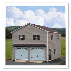 Mega Garages by Horizon Structures. Pre-fab Modular Garage Kit: We ...