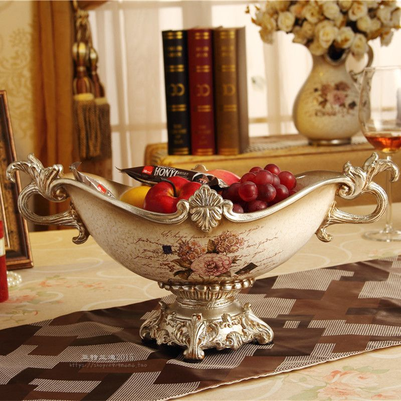 What To Put In Bowls For Decoration Retro Modern Ceramic Decoration Room Fruit Plate American Fruit