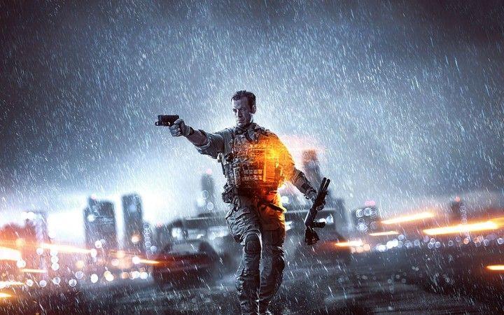 Battlefield 4 Bf4 Coldat rain