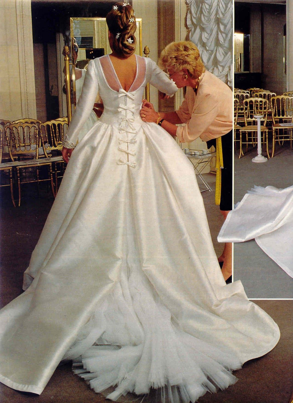 Royal wedding dress  Princesse Clotilde duOrléans  juin   Royals  Weddings