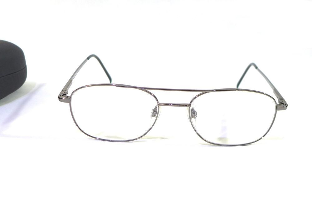 Genesis Altair Eyeglass Frames 2005 Gunmetal 54-18-140 | Rx Frames ...