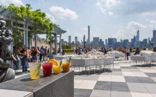 Met Rooftop Garden Cafe And Martini Bar Rooftop Bars Nyc Rooftop Garden Garden Cafe