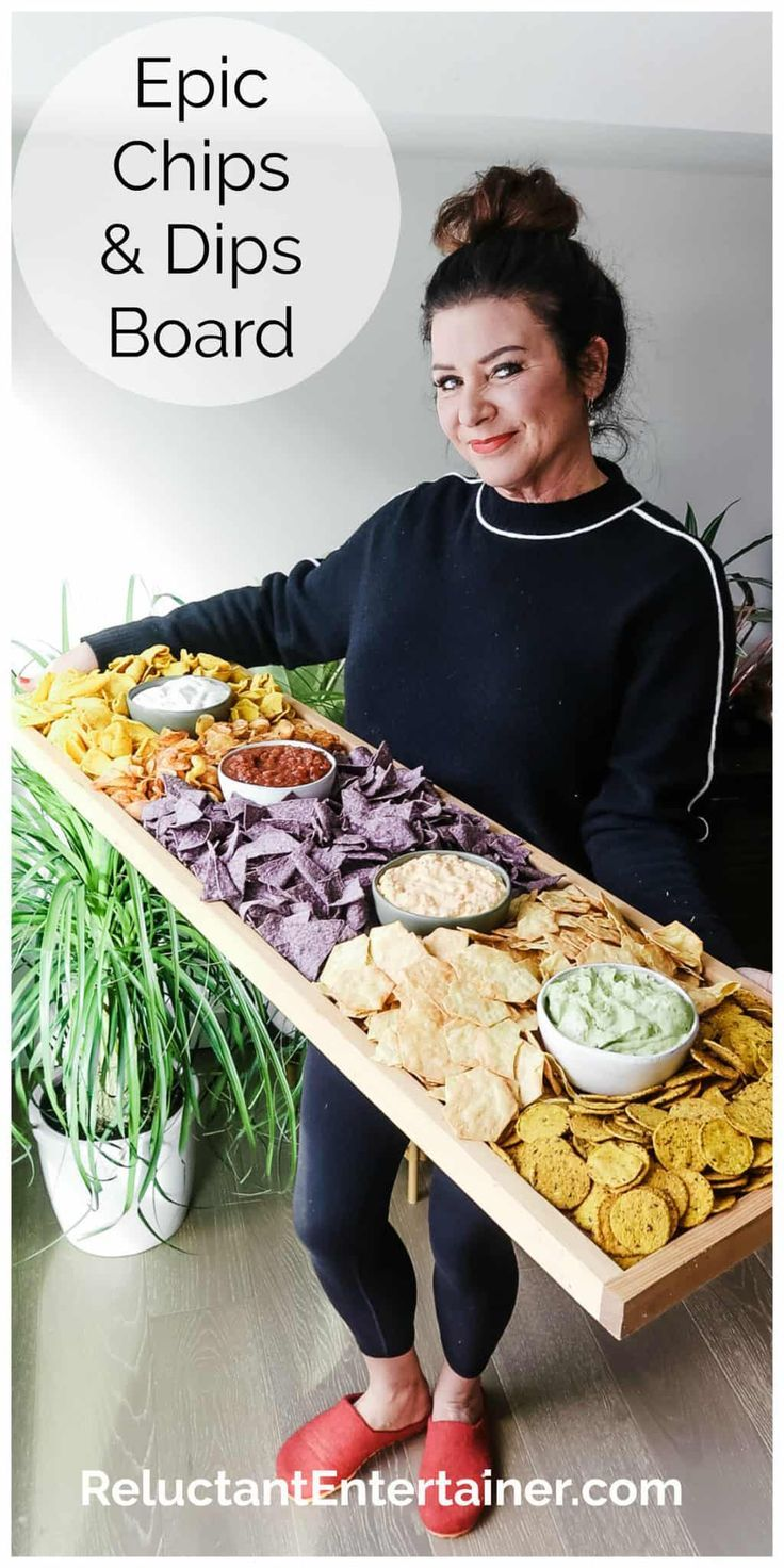 Epic Chips and Dips Board