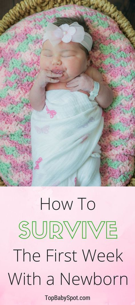 How to Survive The First Week With a Newborn Pinterest Baby - Baby Development Chart