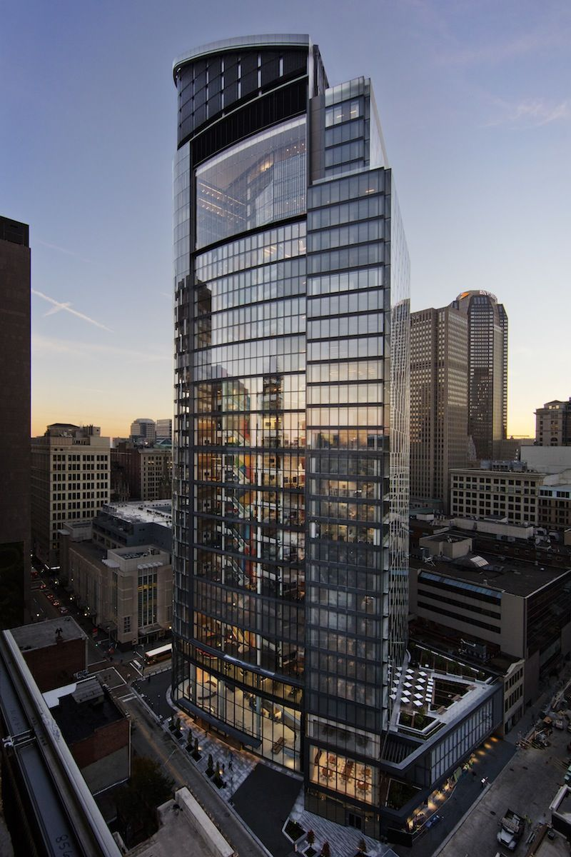 PNCs breathing tower redefines the modern office building  Building Design  Construction