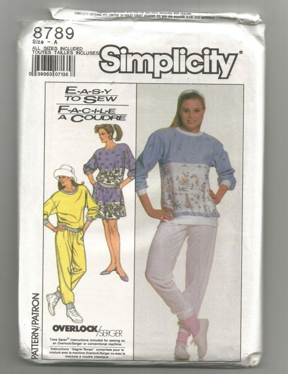 Check out this item in my Etsy shop https://www.etsy.com/listing/509118655/8789-simplicity-sewing-pattern