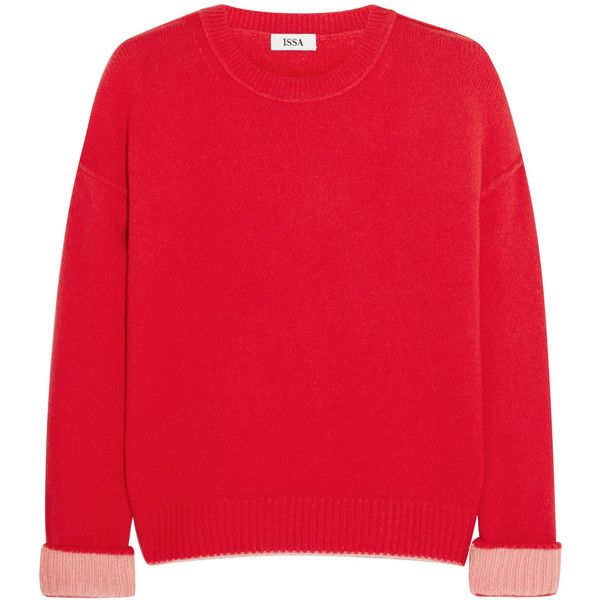 Issa Rudi cashmere sweater (£147) ❤ liked on Polyvore