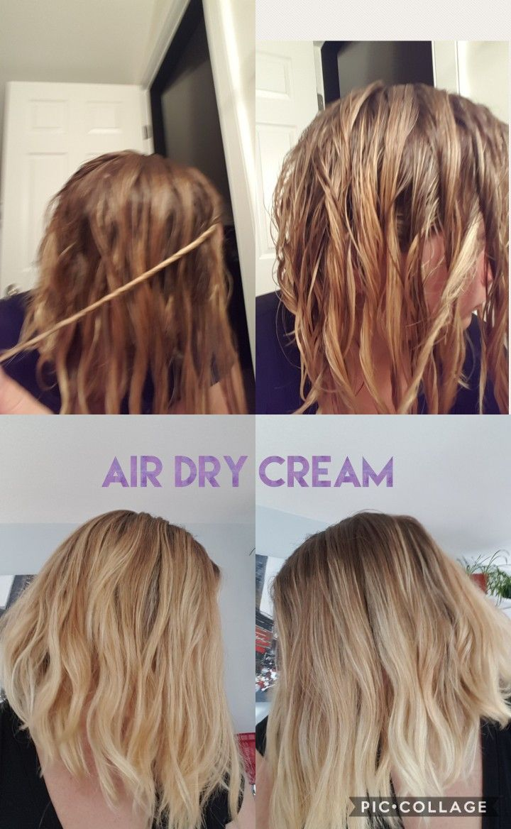 Hair idea for Monat's Only For You product 'Air Dry Cream