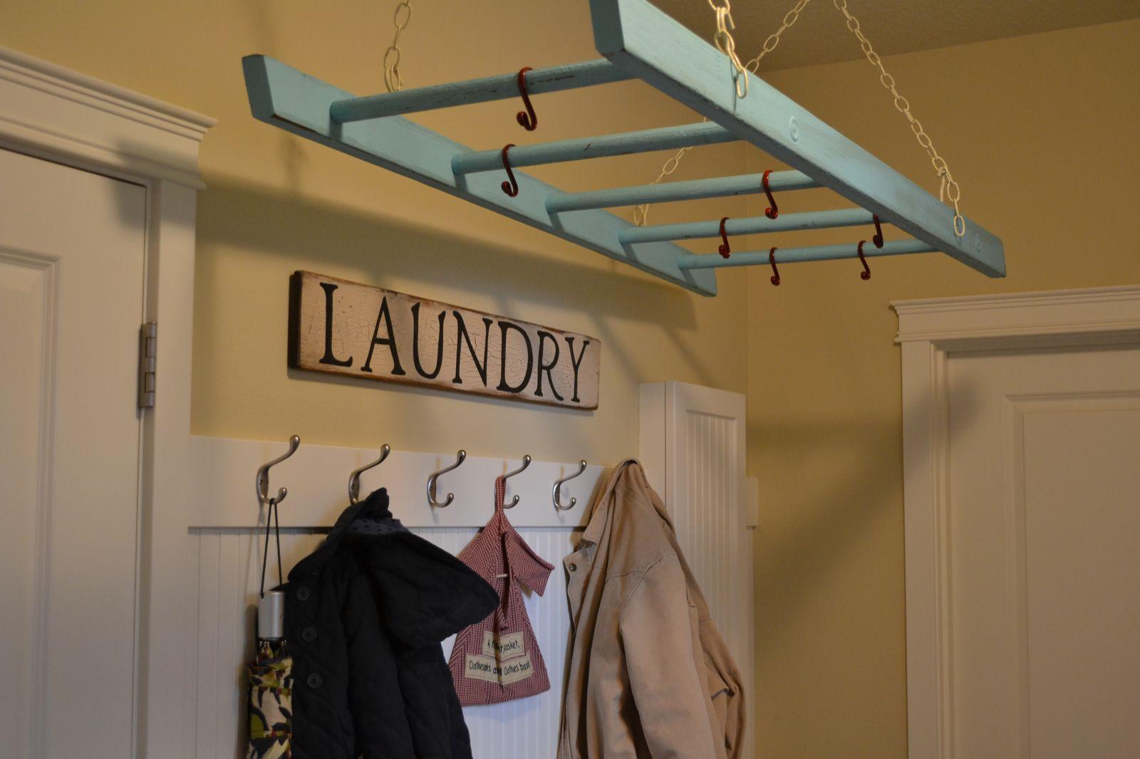 Hanging Laundry Ladder
