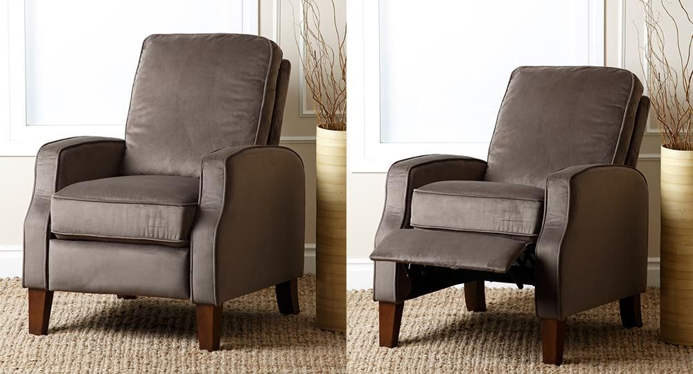 Camden Sage Pushback Recliner by Abbyson Living Recliners