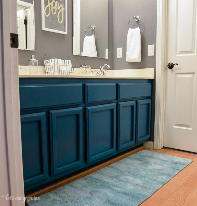 Grey And Beige Bathroom: Guest Bathroom Makeover Reveal!