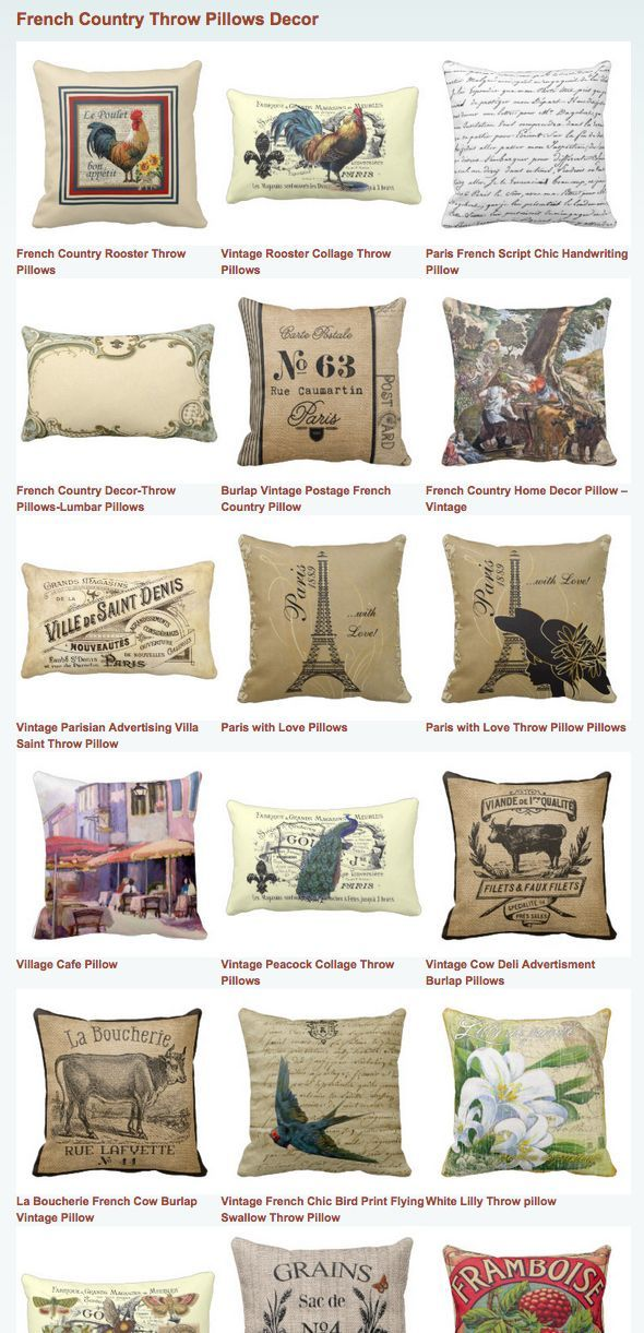 French Country Throw Pillows Decor Pinterest Country Throws Mesmerizing French Pillows Home Decor