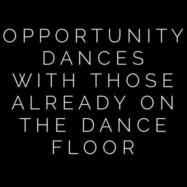 Get on the dance floor with opportunity | The Red Fairy Project