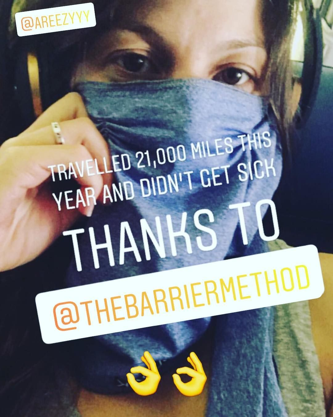 The Barrier Method-A Travel mask company, made in Hawaii  Scarf and