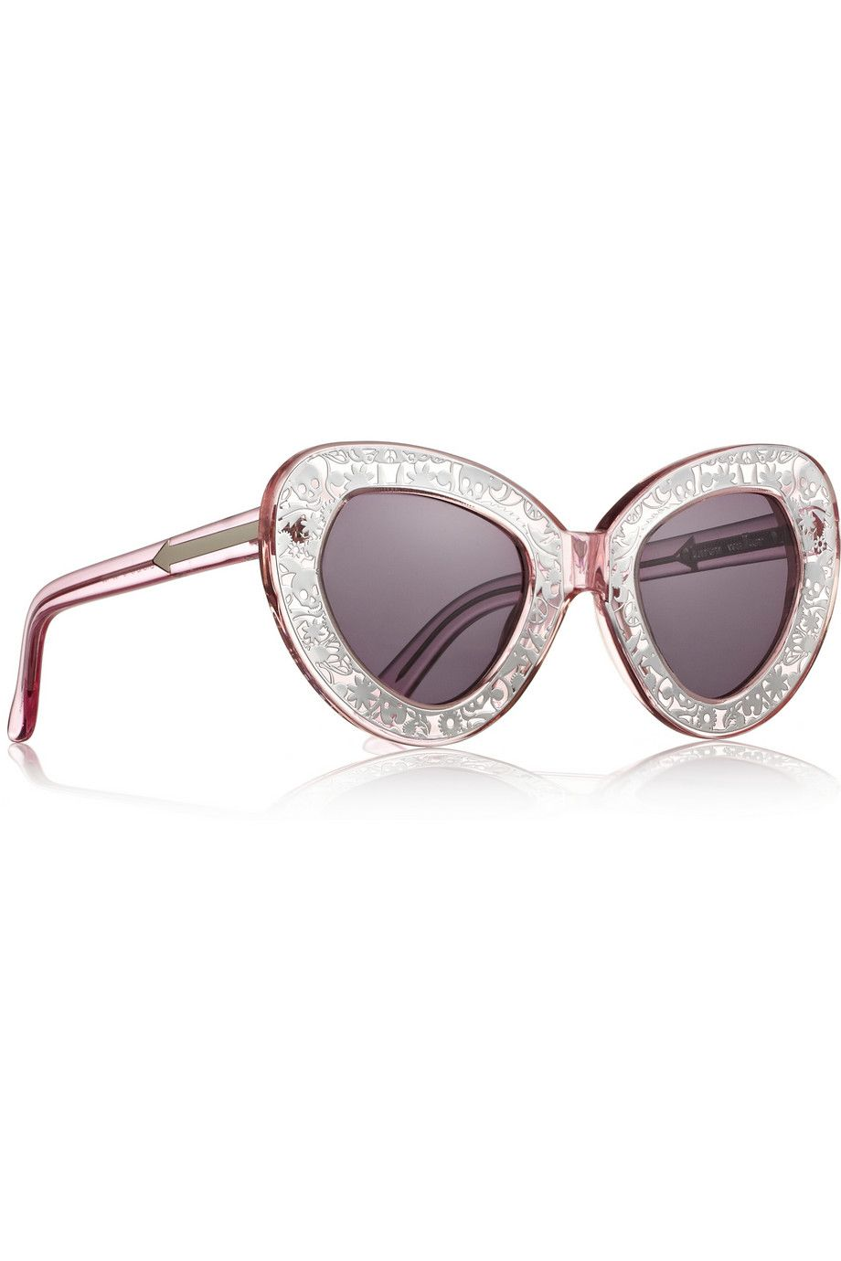 Karen Walker Intergalactic cat eye sunglasses Oculos De Sol, Bijuterias,  Óculos Escuros Estilosos, 6031908905