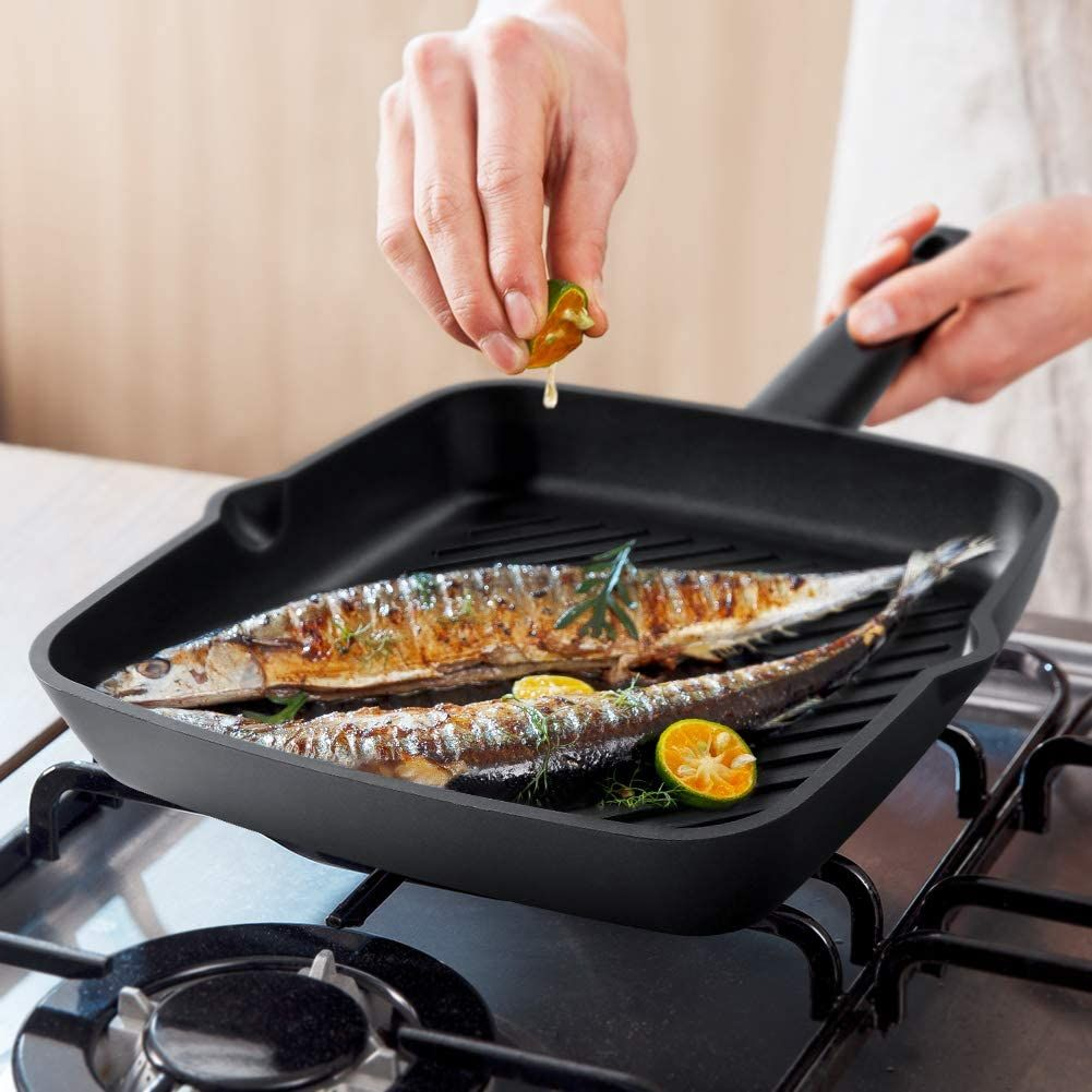 Top 7 Best Stovetop Grill Pans In 2020 In Depth Review In 2020 Stovetop Grill Pan Grill Pan Best Grill Pan