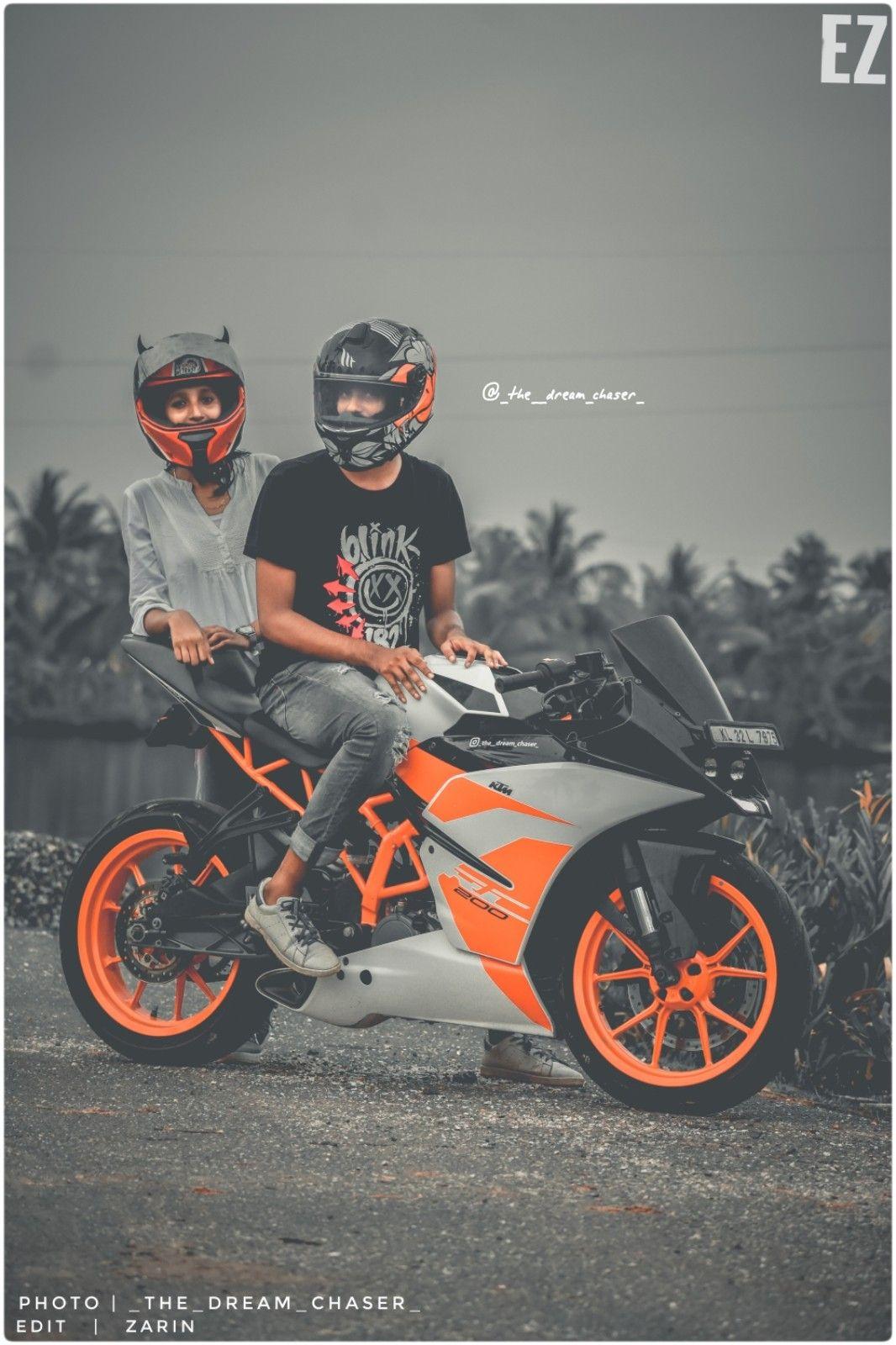 Ktm Lover Bike Photoshoot Bike Pic Biker Photography Get ktm duke couple wallpaper png