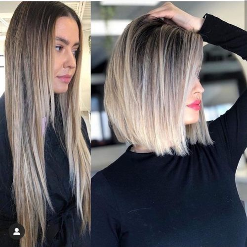 Before and after haircut styles for 2020 Before an