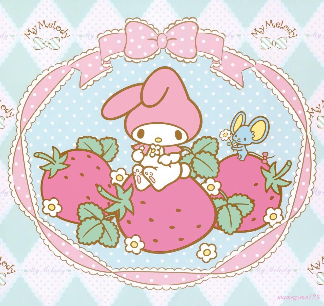 My Melody                         Más imprimibles GRATIS en http://www.fiestuqueando.blogspot.com.es