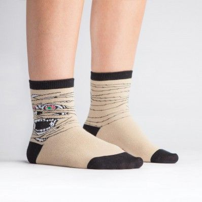 Junior Mummy Socks because even smaller feet like to give a fright!