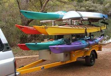 Kayak Trailers Sale Guide Reviews Ratings Kayak Trailer Information And Guide Including Reviews Ratings Articles A Kayak Trailer Kayaking Kayak Camping