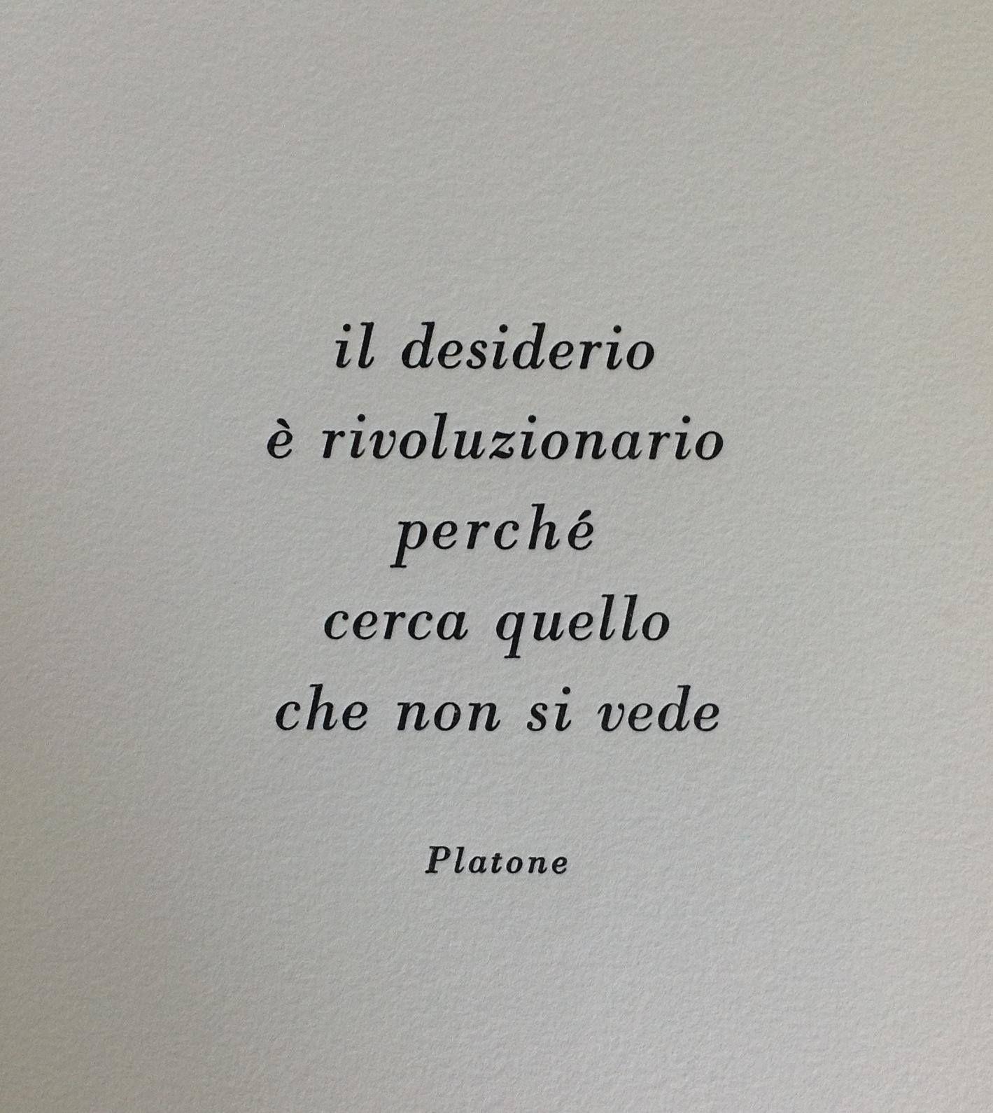Rivoluzione Platone Saggezza Desiderio Provox