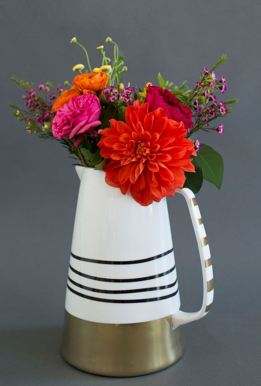 I love how a great pitcher doubles as a vase oh joy for target joy chos clever pitchervase at target reviewsmspy