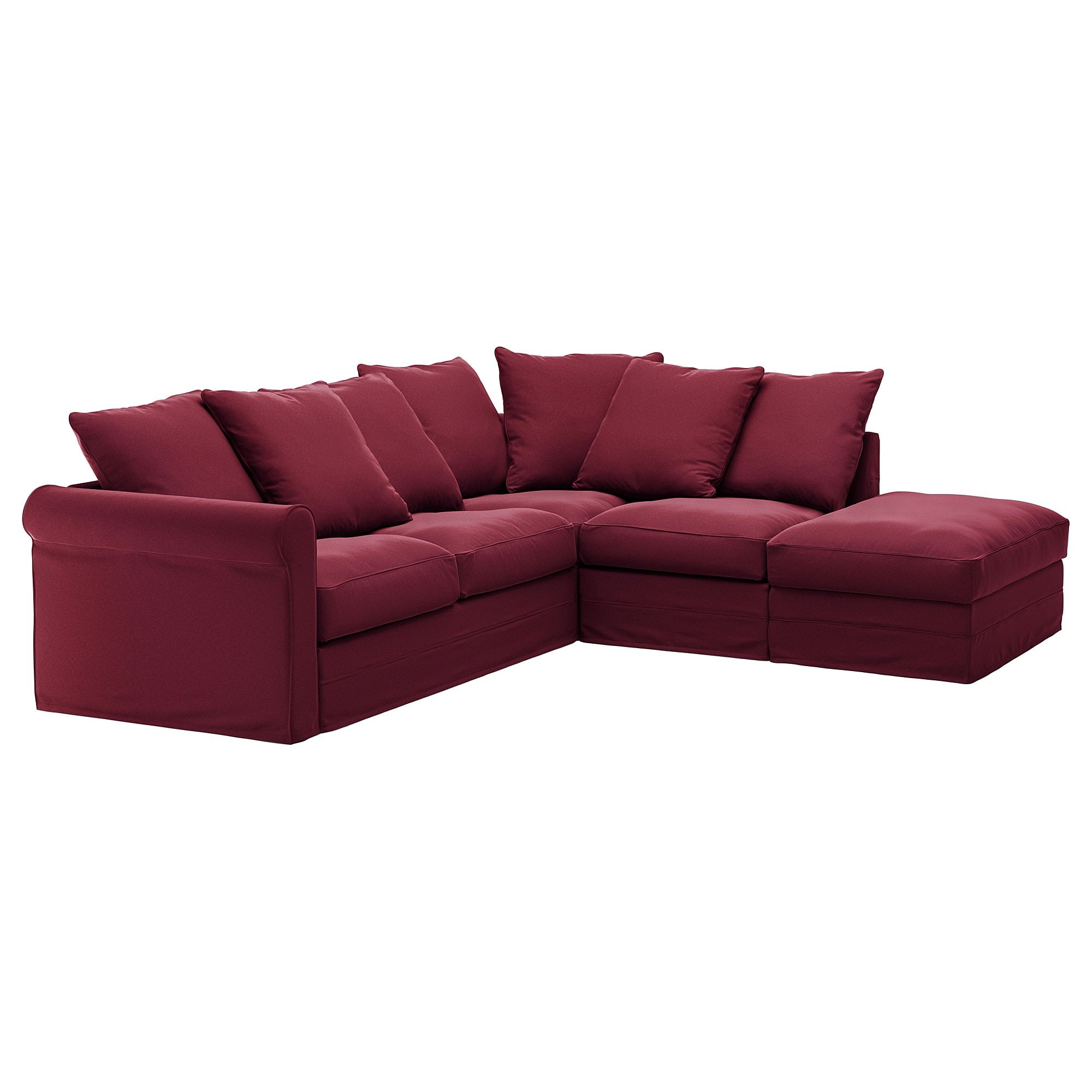 Divano Rosso Ikea.Gronlid Sectional 4 Seat Corner With Open End Ljungen